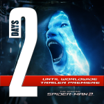 2 Days until the #AmazingSpiderman 2 trailer! Here's a bit of Jamie Foxx...