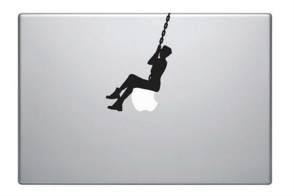 FINALLY, a Miley Cyrus wrecking ball decal for your Mac's Apple logo | http://t.co/SCW1JjpYw2 http://t.co/SnMHFaOlUr