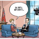 "Todays @TheoMoudakis Cartoon: ""Wynne Meets Kelly"" #onpoli #TOpoli http://t.co/pDRPWFyeaX"