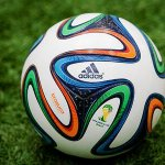 """@SportsCenter: 2014 World Cup ball has been unveiled. Meet the ""Brazuca"" » http://t.co/ZnRZtmuLrA"" @BillyDeniro3"
