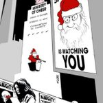 RT @JCollot_PP: Santa is watching you ! http://t.co/4xzEkVouAB