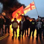 Amazing pic! MT @StandingWolfPaw We told #Canada this would happen. #Elsipogtog was the jumping off point. http://t.co/rMw22W8Ws8