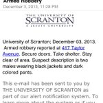 Stay safe out there Royals! Armed Robbery on Taylor Ave. http://t.co/TUXWyi1U71