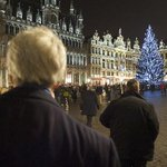 #SecKerry views Christmas-bedecked Grand Place after NATO Ministerial meetings in Brussels, #Belgium, on Dec 3, 2013. http://t.co/JbOUultAPY