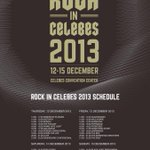 Full Line Up @RockInCelebes 2013 http://t.co/AqjNKfO6eV #UG