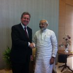 RT @barryofarrell: great to meet Gujarat Chief Minister (& BJP PM candidate) Narendra Modi in Ahmedabad http://t.co/6nMel6NyIm