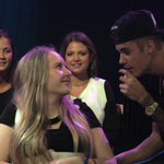 RT @VEVO_AU: Just in case you didnt believe us, here is Kate ONeil meeting @justinbieber #VEVOBieberMelbourne !!!!! http://t.co/2qZALtsRgQ