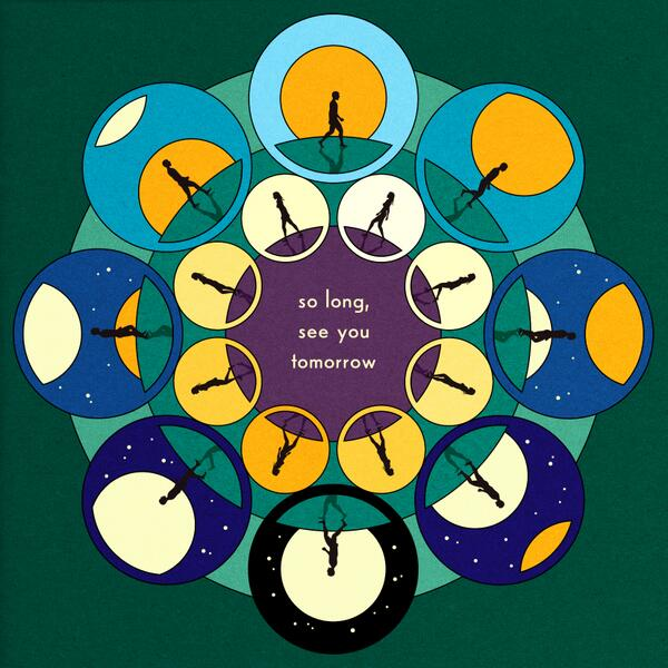 Bombay Bicycle Club (@BombayBicycle): And here is the album cover for So Long, See You Tomorrow.  The album's out February 3 worldwide except Feb 4 US/Can http://t.co/YT4NMgjgqa