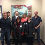 .@stephenkent with members of the Combined Councils of Labrador #miga http://t.co/YrLmXSvP3D