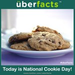 """@UberFacts: Today is National Cookie Day! http://t.co/j5QTufPvBZ"" @MikeFarrell_UC eat a bunch of chocolate chip cookies!!!"