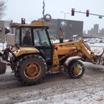 Snow plows are trying to clear the roads but slush is creating hazardous road conditions. http://t.co/wXIao2Oxcq