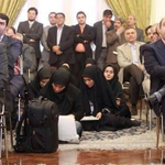 Beautiful carpet RT @LRussellWolpe: Youre a female journalist in Iran? Allow me to show you to your seat. http://t.co/7j16rWnebZ via
