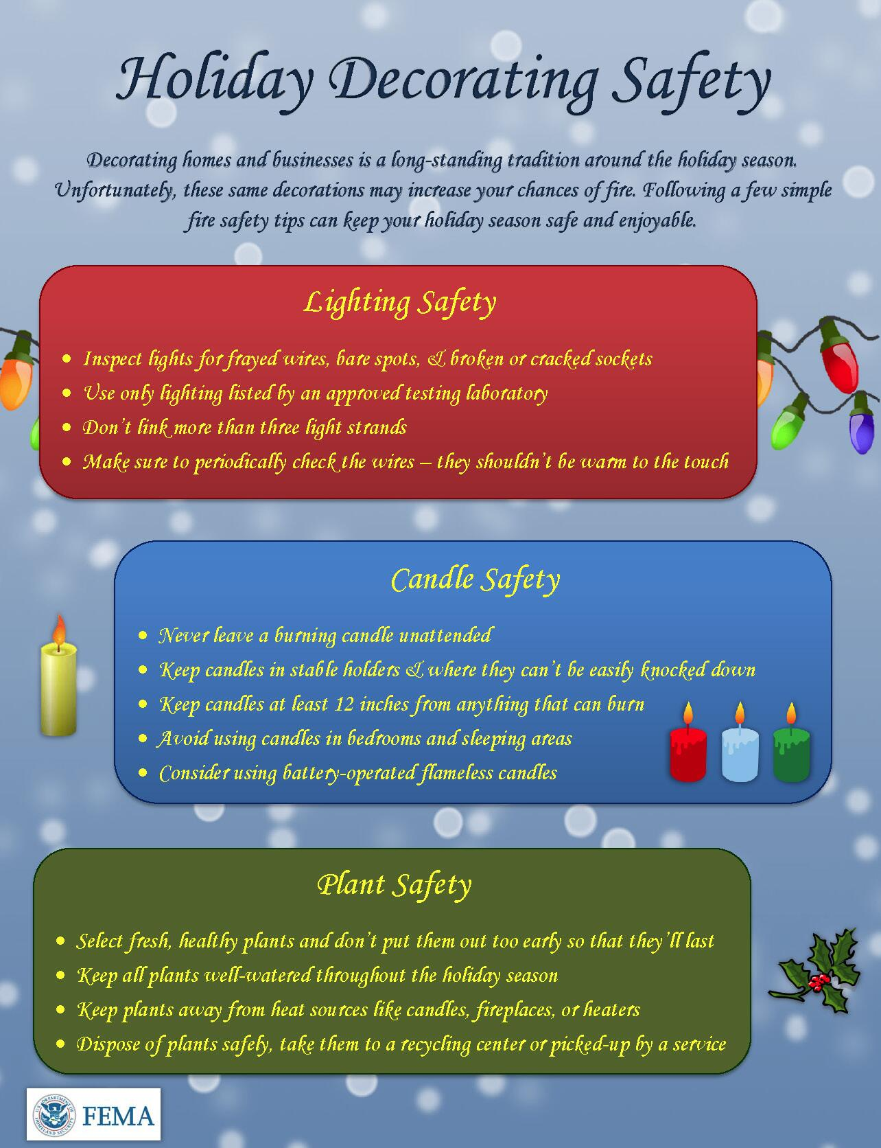 When you're #decorating for the #holiday season, make sure you're staying safe with tips from @usfire http://t.co/iqzzcfNrsV