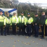 Reminiscing about my journey. Great picture of my escourt through Halifax! @HfxRegPolice thanks again! #Halifax http://t.co/xu7jVFxEWU