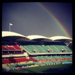 Good morning from Adelaide Oval! Windy & a bit chilly but is this a good omen for Australia? #Ashes #uniteAus http://t.co/WbQ2ufkC8f