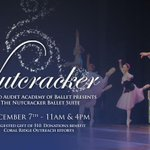RT @coralridgepc: The Nutcracker ballet suite is this Saturday at 11am and 4pm in the Fellowship Hall —see you there! http://t.co/KGxyPKEdfT