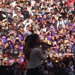 Ariana Grande visited Schurr today as a part of a radio promotion Spartans won with Power 106. http://t.co/vY3AYDpq6X