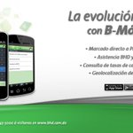 RT @BancoBHD: La evolución a tu favor con B-Móvil BHD. Disponible en Apple App Store, Google Play y BB App World. http://t.co/8EwKERJKwM