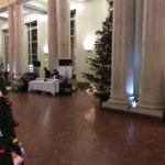 Parkinson Court looking Christmassy as we prepare to welcome our donors for our Scholarships Reception :) http://t.co/RpOqWFndet
