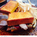 """Turkey Dinner"" Sándwich en acción #mirandabakery #Panama http://t.co/lT7JD2pPvV"