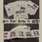Weve got Harry Potter stamps in! Get them while supplies last! http://t.co/ogjNoBxyvl