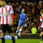 Flying high. Well played @hazardeden10...#CFC http://t.co/ozSXxIkoni