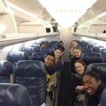 RT @umichwbball: Wheels up to Virginia! #goblue http://t.co/ppwdo8Inwu