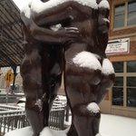 RT @billmcstrib: Does this #snow make my butt look big? #botero #minneapolis http://t.co/gwIHmy5a5u