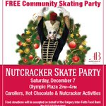 Heres the official invite for the #YYC #Nutcracker skating party! Well be accepting donations for @CalgaryFoodBank http://t.co/X6U279605t