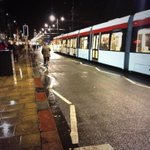 RT @Edinburgh_CC: A tram makes its way down Princes St during first test run tonight. @EdinburghTrams http://t.co/HFa6PZNIRB