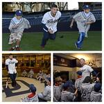 Its hard to tell who had more fun today: @YonderalonsoU or kids from @BGCofGreaterSD? #Padres http://t.co/LCv2cfpuVw