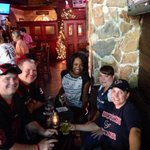 "Met these Texans fan in Jacksonville, FL. Here to ""support the Texans no matter what"". #Texans #texansnation http://t.co/PCBDMzgMC7"