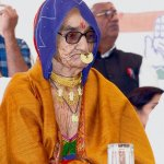 82yr old AmriDevi is a candiate frm Cong in Jodhpur.Wat wud u expect her to do if elected @KiranKS #BJP #Manthan2013 http://t.co/Vnuzvr0dvG