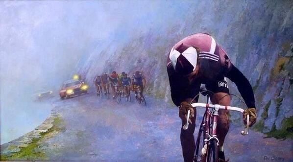 RT @Bicicleto_ZGZ: History or legend? Cycling is the answer RT @Retrocycle: ¿Historia o leyenda? Ciclismo es la respuesta. http://t.co/e25hDCvyt0