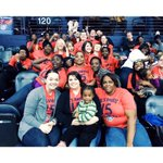 Tonight, 50 of our men, women & children got to take in an @ATLHawks game thanks to @Al_Horford! #AlsAmigos! http://t.co/qoNOxWlNd7
