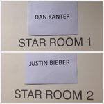RT @dankanter: Backstage at yesterdays acoustic show. Lookout JB, Im moving on up :) http://t.co/r0cSWIBh1y