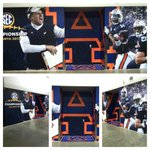 Word. RT @GeorgiaDome The entrance to the @FootballAU locker room at the GeorgiaDome has now been branded for #SECATL http://t.co/gD8mwiUidb