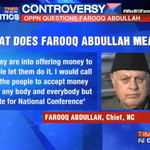 Farooq Abdullah says voters can accept money from anybody & everybody as long as they continue to vote NC to power http://t.co/ajayrTLBnB