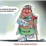 Pakistan is ready for a 4th war with India over Kashmir....Kureel way... http://t.co/vPTAIfHbuA