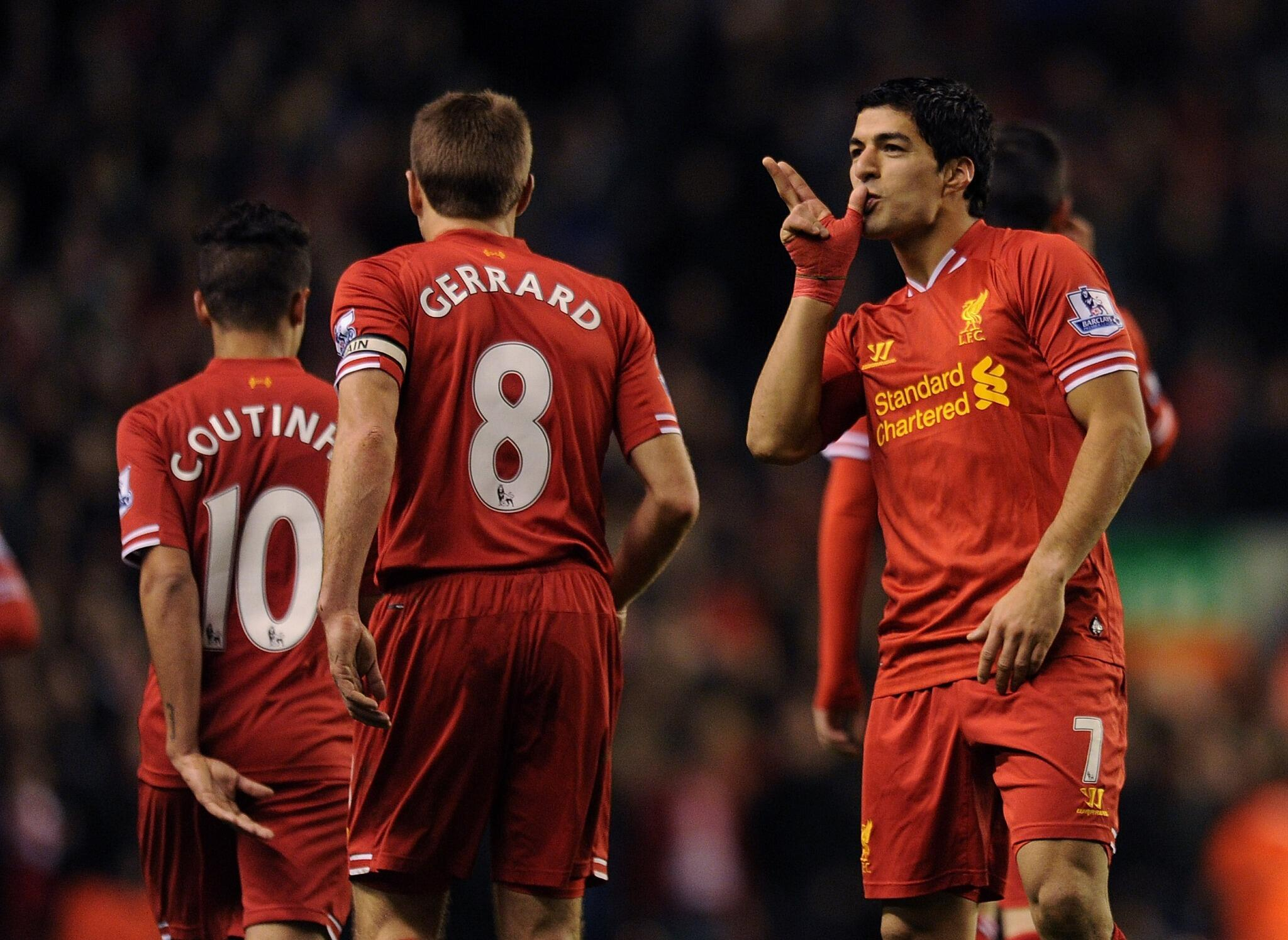 Luis Suarez tells Marca after 4 goal haul v Norwich: I will stay at Liverpool until the end of the season