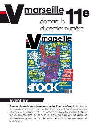 Hé les #Marseillais ! Vous comptez vraiment laisser @Vmarseillemag mourir après 11 numéros? #Marseille2013 http://t.co/d8lqaKI9WA