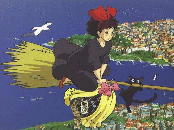 魔女の宅急便の'宅急便'はクロネコヤマトが商標登録しているため 本当は使ってはいけない。しかし、魔女の宅急便の映画の中に