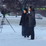 The brave @Global_CaraF is braving the cold doing her live hit #YYC http://t.co/vjmtM0Exa4
