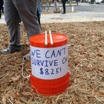 RT @GoodJobsNation: Hey @BarackObama, we cant survive on $8.25! #FastFoodStrikes #payDC http://t.co/Ku7TBOflmb
