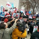Standing with #FastFoodStrikes this morning in DC! http://t.co/U3s1ygVUWv