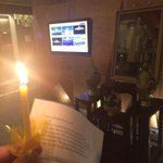 Candle lit for the king. #WeLoveKingTH even the farang :) #bangkok http://t.co/bsYR5vc1lI