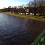 RT @xPaulzox: River Esk doesnt look promising #musselburgh #scotstorm http://t.co/YTJNfOu7z8