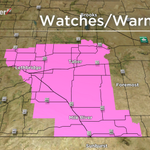 Areas of southern AB now under a windchill warning... values near minus 45 will be experienced http://t.co/EOxSeHbxe9