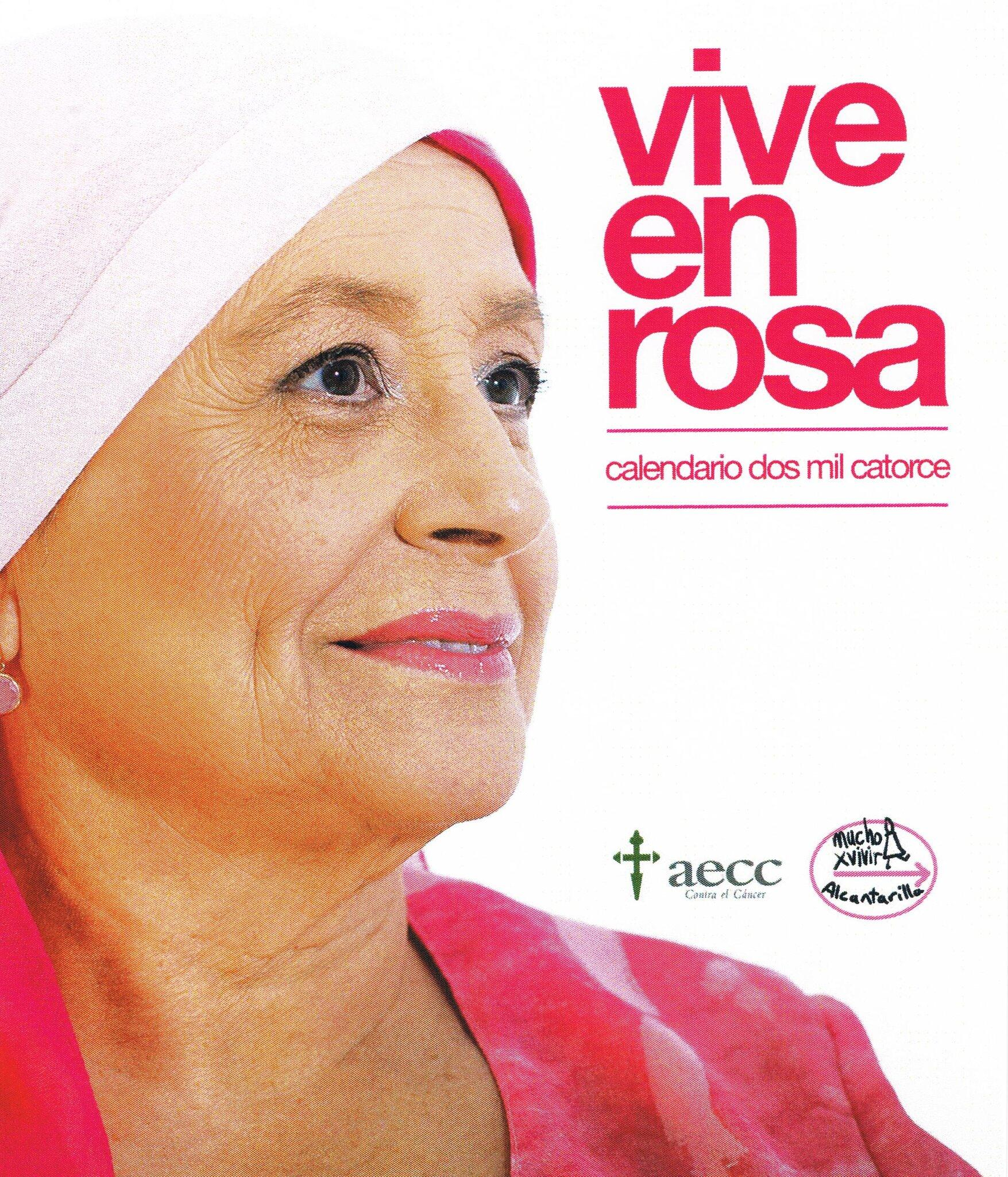 RT @MuchoXVivirA: Portada del Calendario VIVE EN ROSA http://t.co/9RJx9j371Z