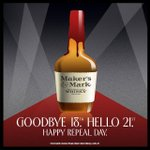 Today we raise our glasses to the 21st. The amendment that 80 years ago, changed it all. #RepealDay http://t.co/MVscfI96g3